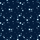 Wektoru deseniowy tło z gwiazdami Zdjęcia Royalty Free