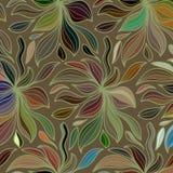Wektoru falowy tło rysujący doodle ręka wykłada Obrazy Stock