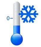 Wektoru lód - zimny symbol Obrazy Royalty Free