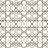 Wektoru lekki bezszwowy wzór z przetykaniem cienkie linie ilustracji