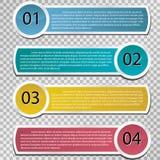 Wektoru papier wykłada i liczby. Zdjęcie Stock