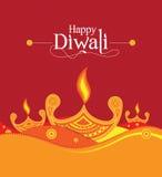Wektoru papieru Diwali projekta szablon Fotografia Royalty Free