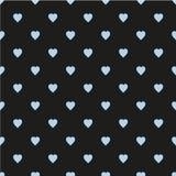 wektoru serc ilustraci wzoru rosnący wektor Płaski skandynawa styl dla druku na tkaninie, prezenta opakunek, sieci tła, złomowa r ilustracja wektor