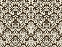 Wektoru t?o adamaszkowy bezszwowy deseniowy Elegancka luksusowa tekstura dla tapet, t?a i strona, wype?niamy Najlepszy motyw ilustracja wektor