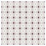 Wektoru ustalony bezszwowy wzór nowożytna elegancka tekstura Wielostrzałowy geome Obrazy Royalty Free