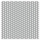 Wektoru ustalony Bezszwowy wzór z kropkowanymi okręgami powtarza tekstury St Obrazy Royalty Free