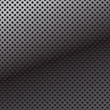 Wektoru wzór dziurkowanie metalu tło. Obrazy Stock