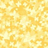 Wektoru wzór z stylizowanymi motylami dla use w projekcie Lata niekończący się tło Zdjęcia Stock