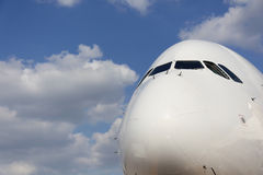 Wekzeugspritze des Verkehrsflugzeugs Stockfotos