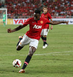 Welbeck of Man Utd. Stock Image