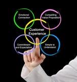 Welche besser gestellt Kunden-Erfahrung stockbilder
