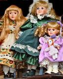 Welche Puppen stockfoto