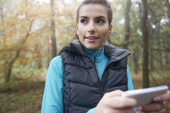 Welche Weise ist das Beste für das Laufen? Lizenzfreie Stockfotografie