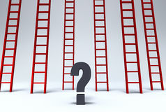 Welcher Ausweg? Lizenzfreie Stockbilder