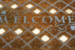 Welcome!! Stock Photo