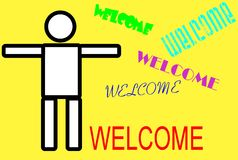 Welcome Stock Photography
