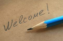 Free Welcome Stock Photos - 1672143