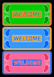 Welcome. Royalty Free Stock Photo