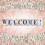 Welcome ! Royalty Free Stock Photography