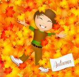Welcome autumn stock illustration