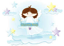Welcome baby vector illustration