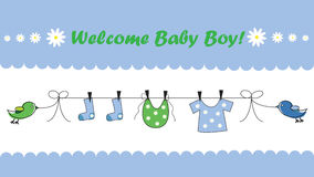 Welcome Baby Stock Photos