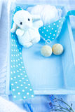 Welcome baby boy Royalty Free Stock Images