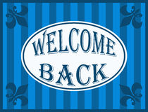 Welcome back Stock Photos