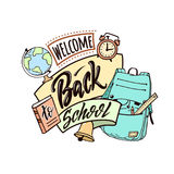 Welcome back school Stock Photos