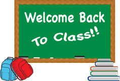 Welcome back to class Stock Images