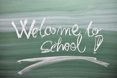 Welcome back to school Royalty Free Stock Image