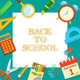 Welcome Back To School Stock Photography