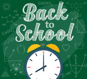 Welcome back to school background Stock Photos