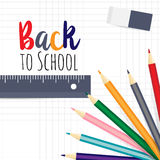 Welcome back to the school Royalty Free Stock Photo