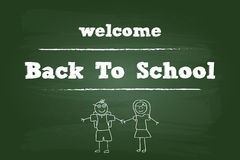 Welcome Back To School Children Royalty Free Stock Image