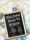 Welcome back to school, Concept Royalty Free Stock Photos