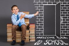 Welcome back to school. Education idea Stock Photos