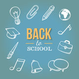 Welcome back to school. Stock Image