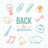 Welcome back to school. Royalty Free Stock Photography