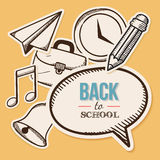 Welcome back to school. Royalty Free Stock Photo