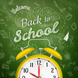 Welcome back to school. EPS 10 Royalty Free Stock Images