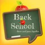 Welcome back to school. EPS 10 Royalty Free Stock Photo