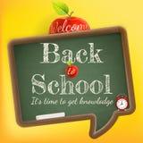 Welcome back to school. EPS 10 Stock Image