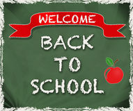 Welcome Back To School royalty free stock images