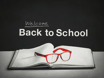 Welcome back to school Royalty Free Stock Photos
