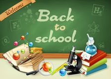 Welcome back to school Royalty Free Stock Photography