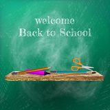 Welcome back to school template design. plus EPS10 Stock Images