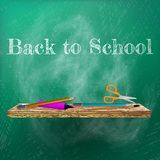 Welcome back to school template design. plus EPS10 Stock Photo