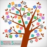 Welcome back to school. Welcome back to school Vector Background. Illustration, EPS 10 Stock Photography