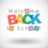 Welcome back to school. Stock Photography